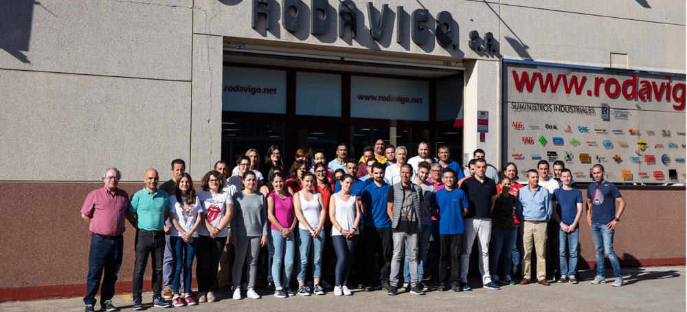 Más de 50 profesionales forman parte del equipo Rodavigo