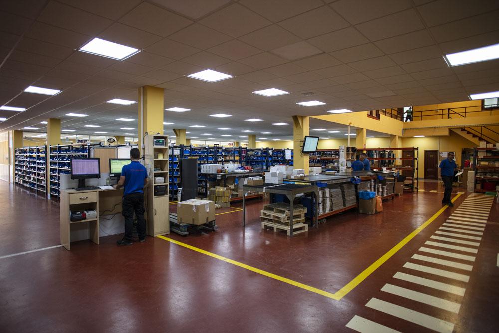 Interior Almacén Rodavigo