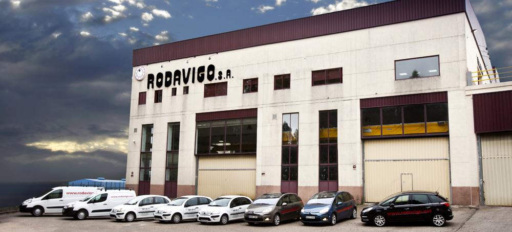 Exterior Nave Rodavigo. Empresa de Suministros Industriales