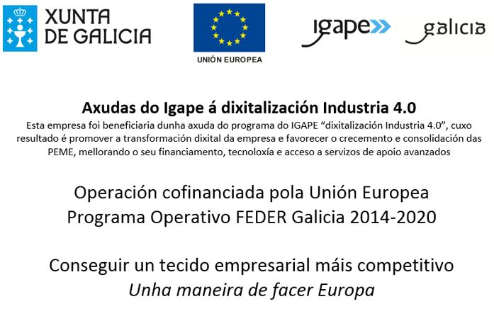 Axudas do Igape á Dixitalización Industria 4.0