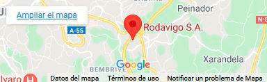 Hubicación Rodavigo