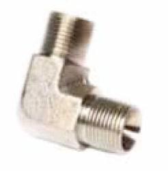 """conector MM 1//4/"""" Codo de lat/ón de 90 grados 2x rosca macho fitting accesorio"""