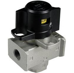 VHS20 F02A | Válvula neumática de mando manual SMC, Control