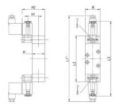 Camozzi 952-000-P11-23 válvula de electroneumático ISO-tamaño 2-sol Sol