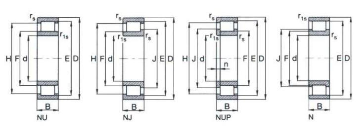 Rolamento De Rolos Com Aro Interior Sem Pestana Ref. Fag Nu202.e.tvp2