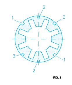FLECTOR A45 HDT 97 GRADOS SHORE-A COLOR ROJO SAMIFLEX