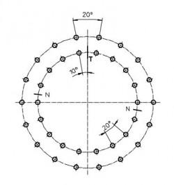 CORONA DENTADA CB-E-0595-B-1-00 REF. LA LEONESSA VE059A10