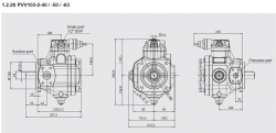 BOMBA PVV103-2-40FHRM-2500 REF. HYDAC 4329801