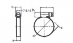 ABRAZADERA 90-110 C7 W2