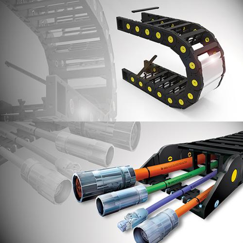 Cadenas portacables - conectores - cables. Suministros Industriales
