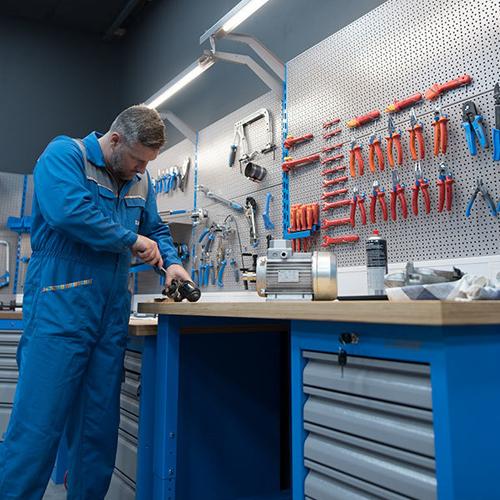 Equipamientos para taller. Suministros Industriales