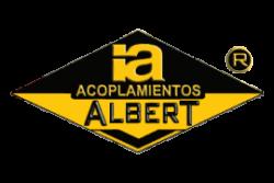 CORONA Y ANILLO ALBERT CONJUNTO X-150 MONTAJE EXTERIOR VULKOLLAN ROJO