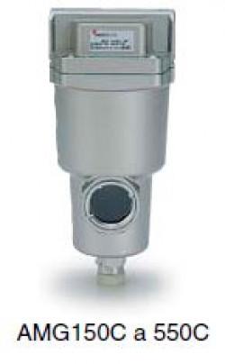 SMC amg350c-f04c Separador Filtro aire comprimido-limpieza-System amg-el350